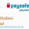 paysafecard Guthaben Gewinnspiel [Beendet]