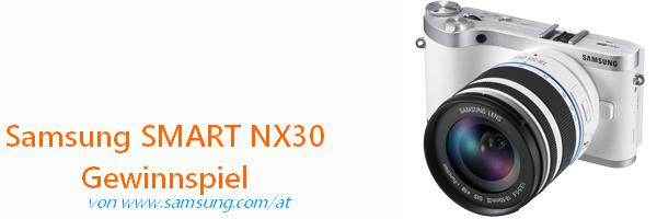 Samsung SMART Systemkamera NX30