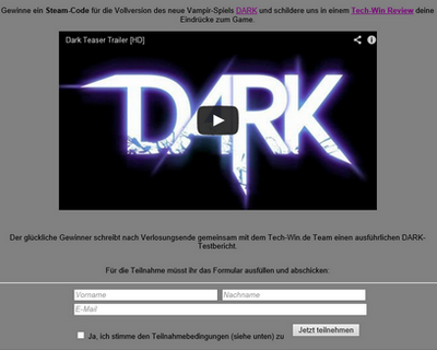 darkteilnahme