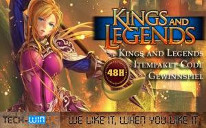 kings of legens gewinnspiel