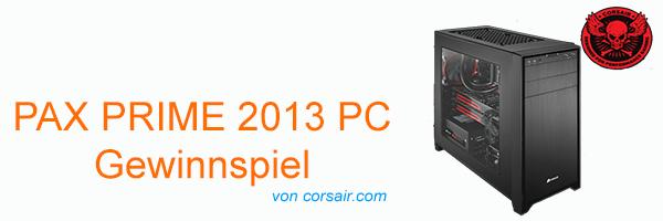 corsair pax Prime Gewinnspiel Gaming PC Header
