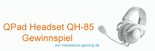 QPAD HEADSET QH-85 GEWINNSPIEL HEAD