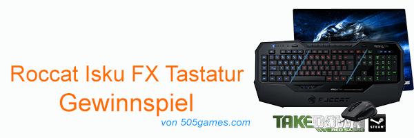 Roccat Isku FX Tastatur Header Gewinnspiel