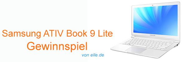 Samsung ATIV Book 9 Lite Gewinnspiel Header