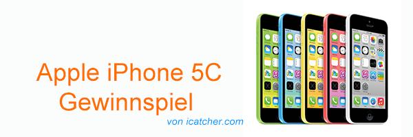 Apple Iphone 5C Gewinnspiel Head