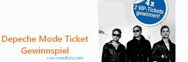 Depeche Mode Gewinnspiel 2019
