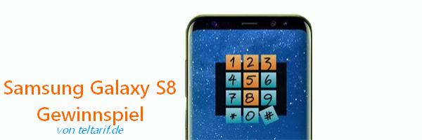 Samsung Galaxy S8 Gewinnspiel